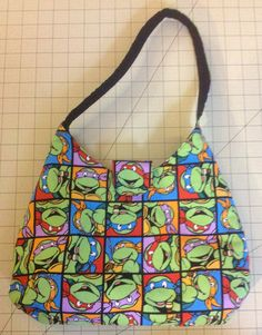 TMNT Purse by GeekStuffShop on Etsy