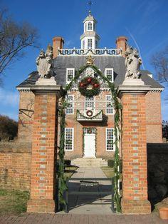 Governor's Palace, Williamsburg, VA. Photographer: Kathy Wainwright
