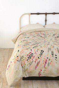 Vintage Scarf Bedding- i have a beautiful piano shawl like this!...great idea for it!