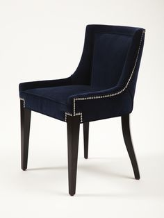 Audrey Chair designed by Erinn Valencich, contestant on NBC's American Dream Builders hosted by Nate Berkus Dining Room Chairs, Dining Furniture, Furniture Making, Furniture Design, Casa Magna, Single Chair, Sofa Chair, Interior Design Living Room, Chair Design