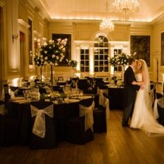 Bride & Groom in Ballroom - Image provided by Bluesky Photography