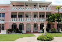 Southern Palms Hotel, right on the best beach in Barbados, St Lawrence Gap. Good food, great staff, quality rooms. Excellent ratings on Trip Advisor.