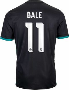fa60546a0 2017 18 adidas Gareth Bale Real Madrid Away Jersey. Buy a pair from www