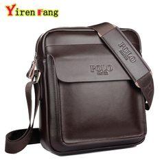 f49fc3ab598b9 HWPOLO 2017 fashion men messenger bag men leather shoulder bag designer  famous brand business briefcase crossbody bag for men-in Crossbody Bags  from Luggage ...