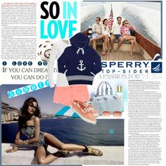 """Seaside story"" by mahora ❤ liked on Polyvore"