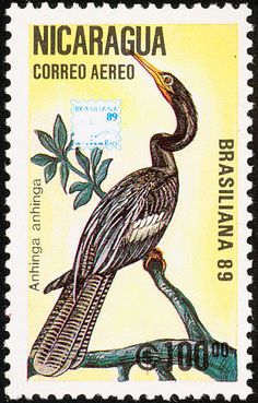 Anhinga stamps - mainly images - gallery format
