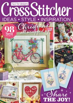 Get your digital copy of Cross Stitcher Magazine - December 2016 issue on Magzter and enjoy reading it on iPad, iPhone, Android devices and the web.
