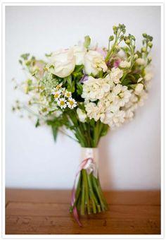 sweet wildflower bouquet