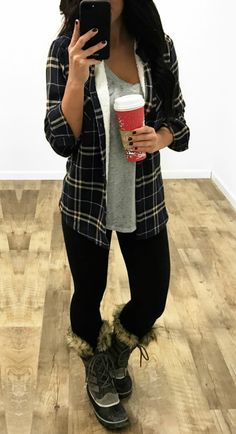    Fabulous Feeling Plaid Flannel With Faux Fur Lining    You'll be the envy of all your friends in the Fabulous Feeling Plaid Flannel With Faux Fur Lining! A plaid flannel with fur?! What more could a girl ask for!!