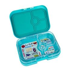 Yumbox Leakproof Bento Lunch Box Container (Fifth Avenue Blue) for Kids and Adults Yumbox http://www.amazon.com/dp/B00NBBBV2G/ref=cm_sw_r_pi_dp_KD8Fub05A0923