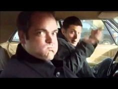 Jensen  Ackles  and  Mark  Sheppard  as  Dean  and  Crowley  on Supernatural  ♡