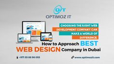 How to Approach the Best Web Design Company in Dubai
