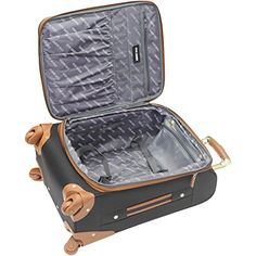 Amazon.com | Steve Madden Luggage Honey 4 Piece Spinner Collection (Purple) | Luggage Sets Suitcase Set, Spinner Suitcase, Best Luggage, Luggage Sets, Purple Luggage, Steve Madden, Designer Luggage, Travel Necessities, Travel Light