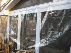 DIY: How To Winterize / Enclose Your Porch With Clear Vinyl | DIY |  Pinterest | Porch, Screened Porches And Screens.