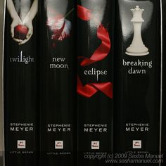 Twilight Saga - it's what every girl wishes her romance was like, yet we all know it's never going to happen since vampires aren't real and werewolves aren't either, but the love story is still great and very moving.