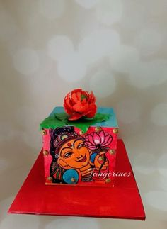 Incredible India Collaboration - cake by tangerine