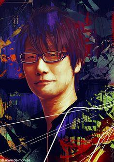 Hideo Kojima tribute by De-monVarela.