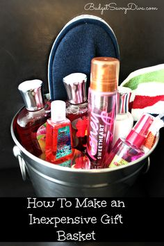 How to Make an Inexpensive Gift Basket
