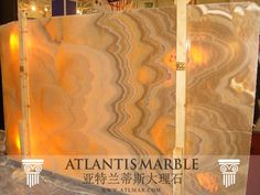 Turkish Marble Block & Slab Export / ONYX HONEY Marble   http://www.atlmar.com/product/211-turkish-marble-onyx-honey-slab.html