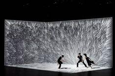 3D Mapping Dance Scenography – Fubiz Media