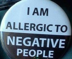 Negative people are hard for anyone to deal with...but if you're an HSP it can be doubly hard.