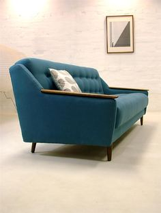 RARE MID CENTURY MODERN SOFA BED RETRO VINTAGE DAY DANISH ERA TEAK 50s 60s 70s | eBay