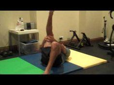 Geneva Chiropractor demostrates|explains alternative hamstring stretch for lower back pain