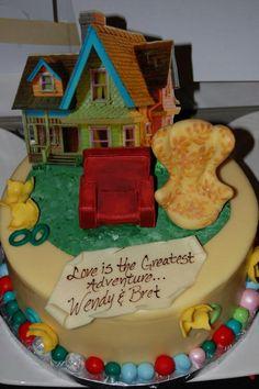 Up anniversary cake