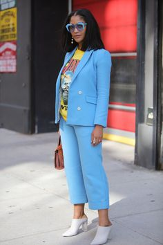 Gloriously Chic | Your glimpse at all the best-dressed folks attending runway shows, after parties and everything in between at New York Fashion Week Spring 2018!