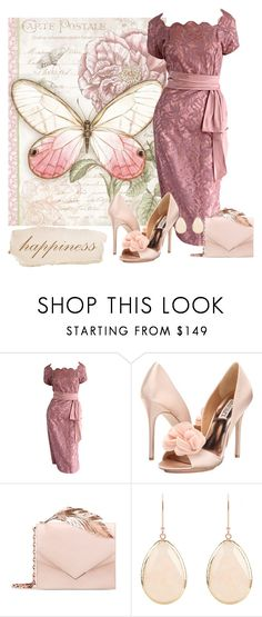 """""""Untitled #1558"""" by earthlyangel ❤ liked on Polyvore featuring Badgley Mischka and RALPH & RUSSO"""