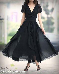 chiffon prom dress