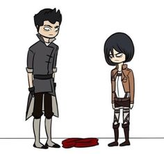 The red scarf.   Legend of Korra and Attack on Titan