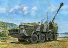 Russian 130mm Coastal Defense Gun A-222 Bereg 01036