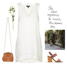 """""""2822."""" by a-colette ❤ liked on Polyvore featuring Topshop, Madewell and OKA"""