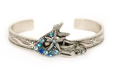 The Under the Sea Mermaid with Starfish Bangle