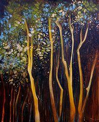 Sharlena Wood Art - Dream Tree  by Sharlena Wood