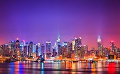 New York City NYC Manhattan night city Check more at http://hdwallpaperfx.com/new-york-city-nyc-manhattan-night-city/