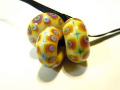Brno 3 Pandora Sized Beads Made to Order UK SRA by helenjewellery, £10.00