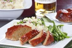 Barbecue Meatloaf - Delicious and Weight Watchers
