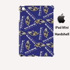 Baltimore Ravens Pattern iPad Mini Case Cover Wrap Around