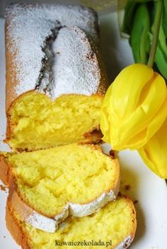 Babka złocista z przepisu od mamy Sweet Recipes, Cake Recipes, Polish Desserts, Polish Food, Delicious Desserts, Yummy Food, Sweet Cakes, How Sweet Eats, Food Inspiration
