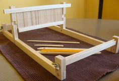 diy rigid heddle loom