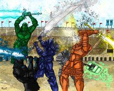 The Adolin's Duel by fefeeyss87.deviantart.com on @DeviantArt