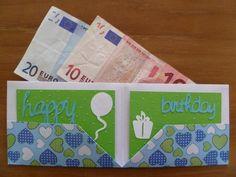 Marly Design: Op een leuke manier geld geven als verjaardagscadeautje / Nice way to give money