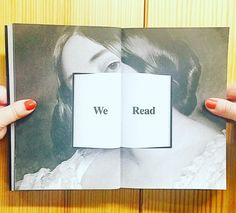 We read!  my favourite spread from @petermendelsund 'What We See When We Read' radical exploration on reading from one of the best book designers  #petermendelsund #igreads #bookstagram #whatweseewhenweread