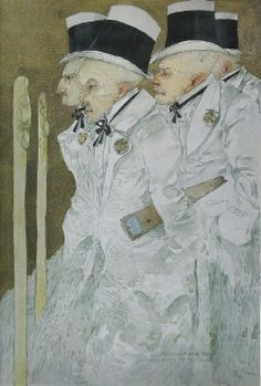 Les 4 evangelistes, 1906 by Gustav-Adolf MOSSA (1883-1971)