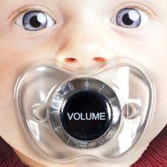Tétine Volume du Son : la sucette insolite pour bébé qui envoie du son !