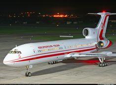 Tupolev Tu-154M aircraft