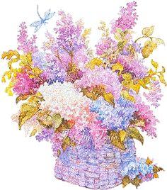 Великолепные цветы в пнж. Вам для радости)). Обсуждение на LiveInternet - Российский Сервис Онлайн-Дневников
