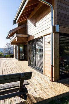 Maison construite en bois savoie Aix les bains savoie